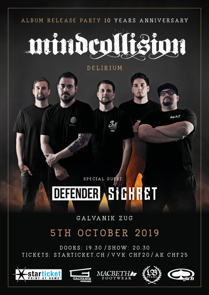 Mindcollision - Album Release Party / 10 Years Anniversary