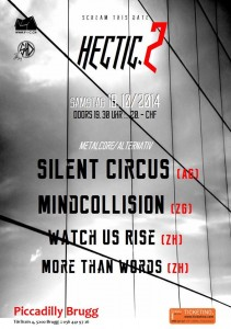 Flyer Piccadilly Brugg - 18.10.2014 - Mindcollision