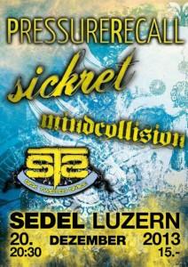 Flyer Sedel Luzern 20. Decemeber 2013