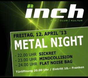 Metal Night - Inch Club Fiesch