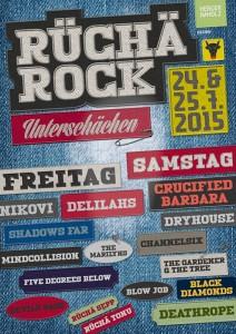 mindcollision @ Openair Rüchä Rock 2015
